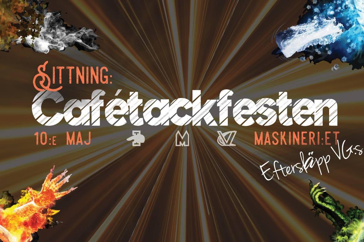 Cafétackfest med V, M & I 10/5
